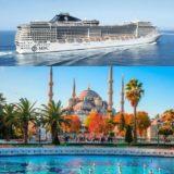reprezentativa croaziera msc pe mediterana plecare din istanbul turcia italia grecia croaziera ieftine croaziere la oferta