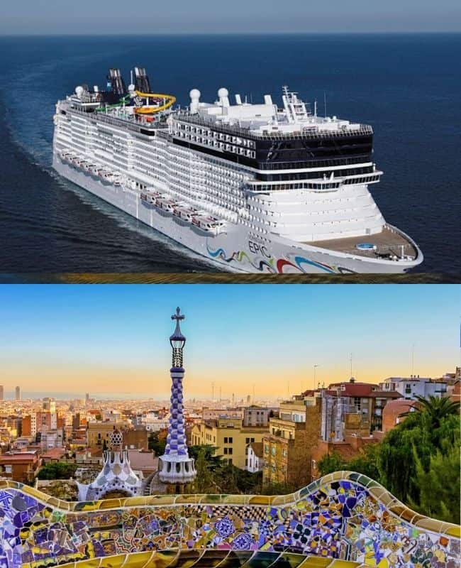 reprezentativa barcelona croaziera mediterana de vest italia spania franta oferta croaziere ncl norwegian cruise line croaziere la oferta croaziere ieftine pe mediterana